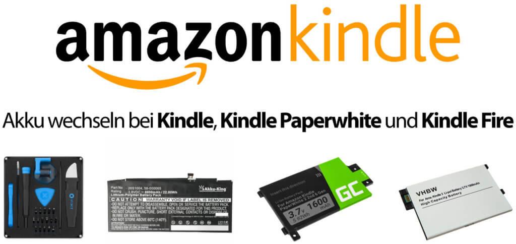 Anleitung: Akku tauschen bei allen Kindle-Modellen leicht umsetzbar. Jetzt selber den Amazon Kindle Akku wechseln, auch bei Paperwhite und Fire Modellen. Schritt-für-Schritt-Anleitungen, Videos und Ersatzakkus in diesem Ratgeber!