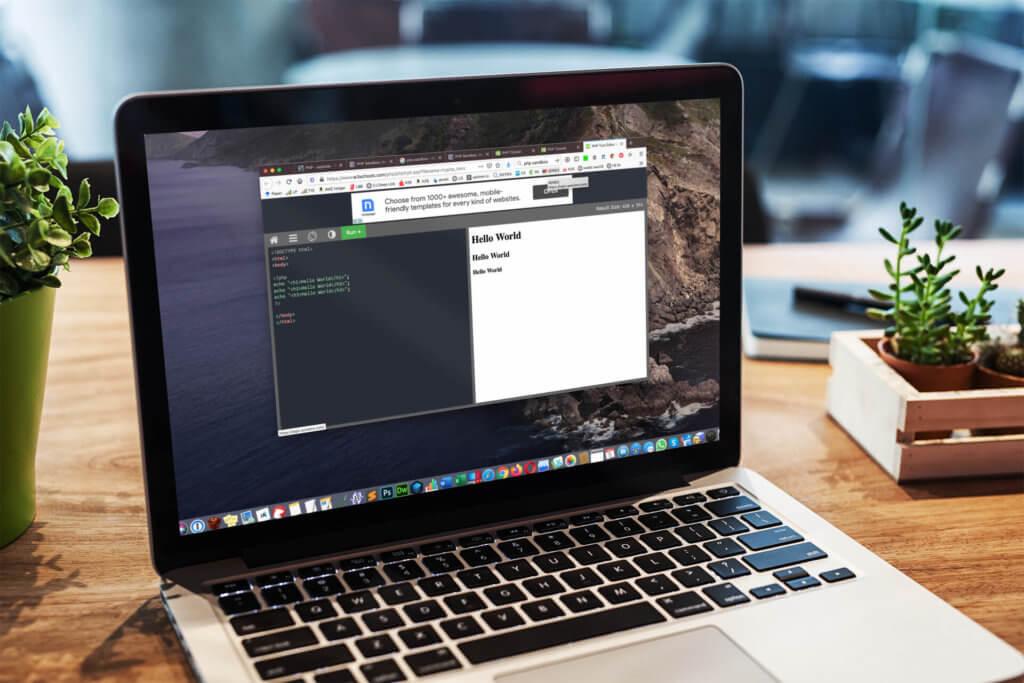 Für Anfänger ist eine PHP Sandbox perfekt, um mit PHP Befehlen rumzuprobieren und zu lernen, wie sie funktionieren.