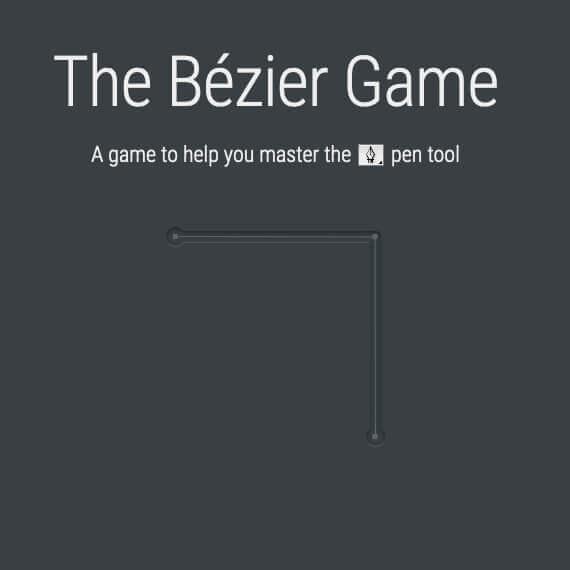 The Bézier Game – Üben von Kurven und Vektoren