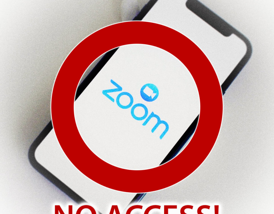 No Access for Zoom