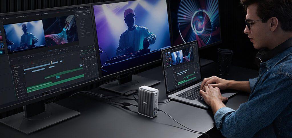 Das neue Gerät von Anker soll vor allem eine Lösung für Kreative sein, die beispielsweise mehrere Monitore am MacBook anschließen wollen.