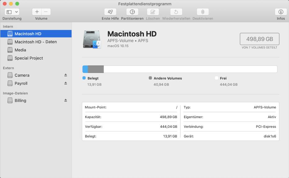 """Anleitung zum Festplatte formatieren am Mac: Wählt links den Speicher aus, klickt auf """"Löschen"""", wählt ein Format (und evtl. Schema) aus und bestätigt das Ganze. Fertig :)"""