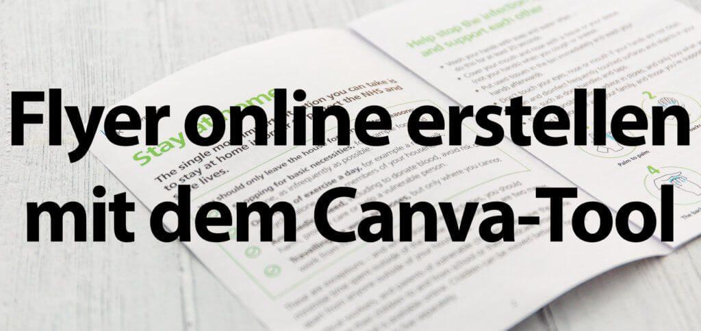 Flyer online erstellen, das ist kostenlos mit dem Canva Design Tool möglich. Zusätzlich zu Flugblättern könnt ihr dort auch Logos, Visitenkarten, Briefköpfe und sogar YouTube Thumbnails erstellen.