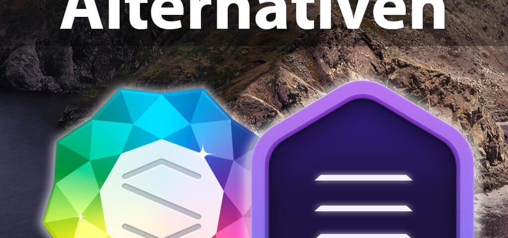 iWeb Alternativen unter macOS Catalina