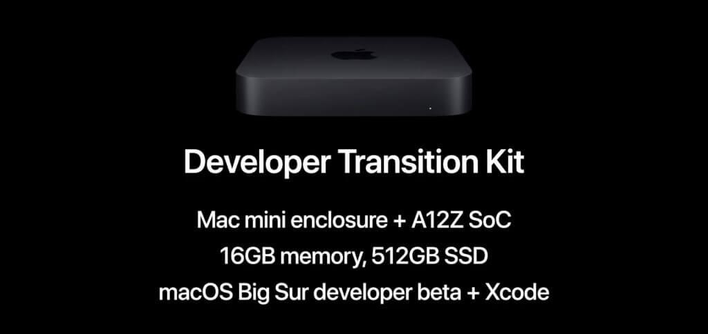 Das Mac mini Developer Kit im Apple Store kaufen? Das geht nicht einfach so. Erst müsst ihr euch für das Universal App Quick Start Program bewerben. Werdet ihr ausgewählt, könnt ihr ein Developer Transition Kit mit Apple Silicon SoC und macOS 11.0 Big Sur bestellen.