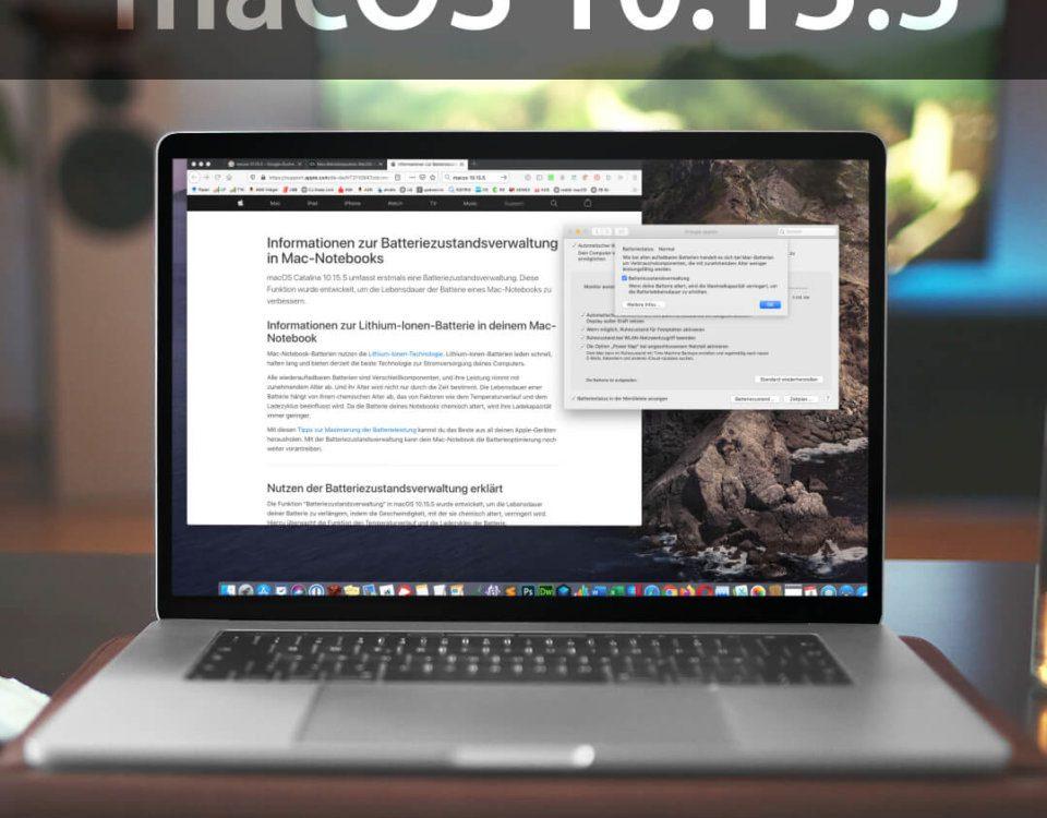 macOS 10.15.5 Catalina