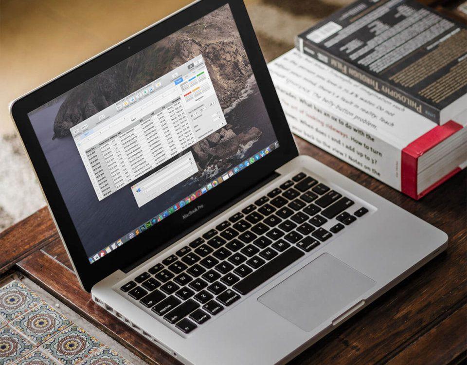 Numbers am Mac: Suchen und Ersetzen in einer Spalte