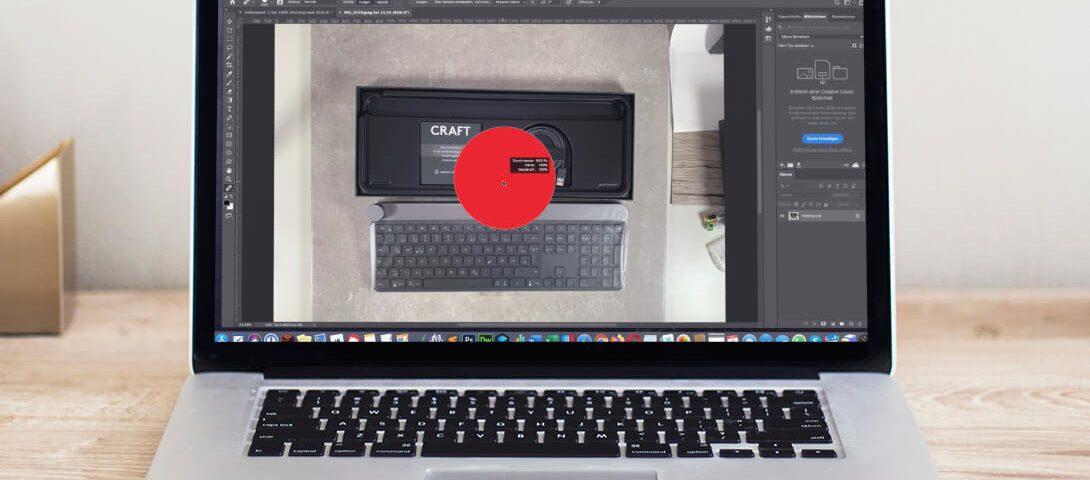 Pinselgröße bei Photoshop mit Tastaturkombination ändern