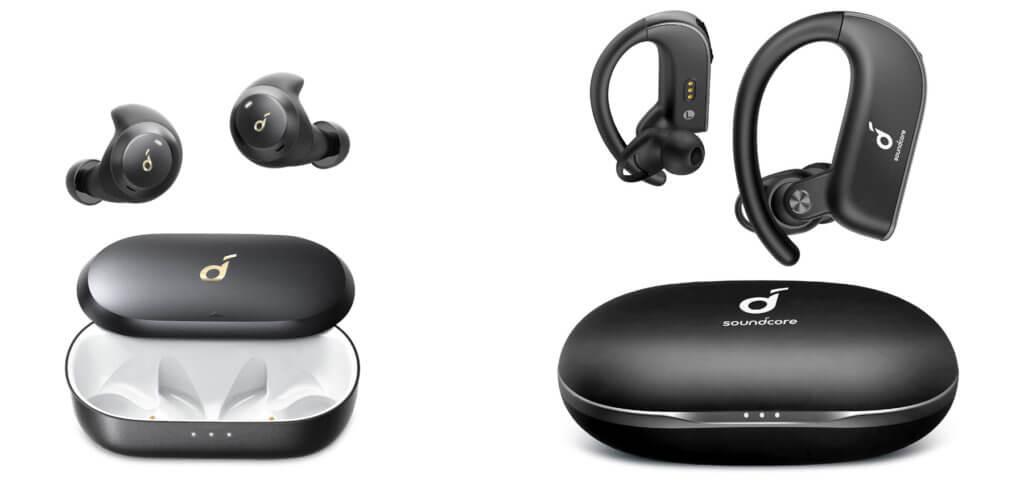 Die Soundcore Spirit Dot 2 und Soundcore Spirit X2 Kopfhörer von Anker sind komfortabel und schweißresistent. Auch dank langer Akkulaufzeit sind sie ideal als Sportkopfhörer.
