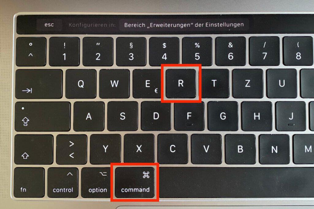 In beiden Anleitungen muss man den Mac im Wiederherstellungsmodus booten. Dazu hält man beim Neustart CMD + R gedrückt (Fotos: Sir Apfelot).