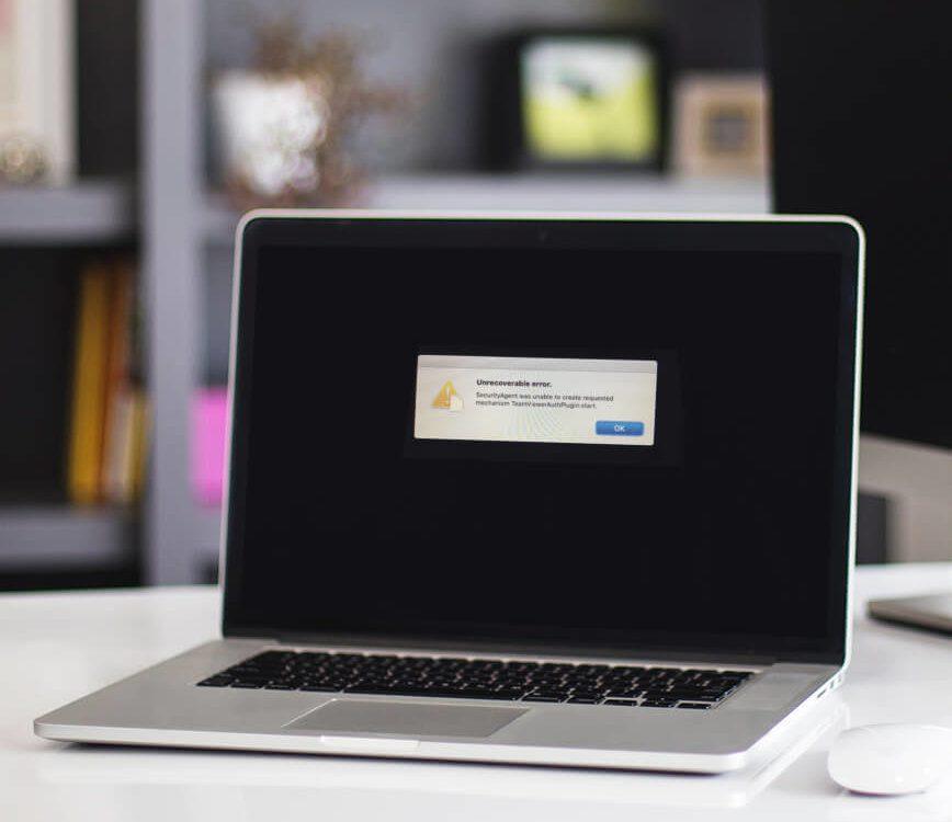 Unrecoverable Error: Wenn der Mac nicht mehr bootet
