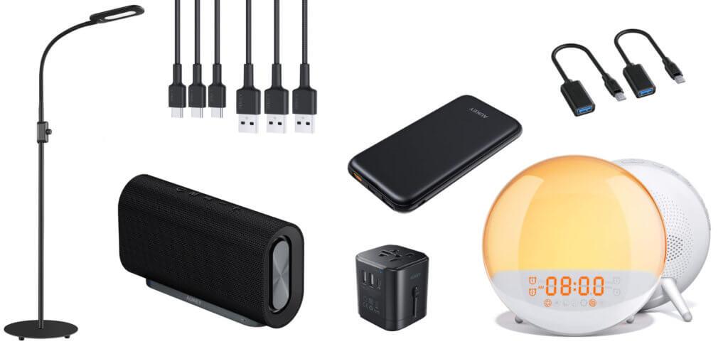 Unter den aktuellen Amazon Gutscheincodes sind welche, die AUKEY-Produkte wie eine Stehlampe, einen Bluetooth-Lautsprecher, einen Lichtwecker und weitere Artikel günstiger machen. Hier findet ihr die aktuelle Übersicht.
