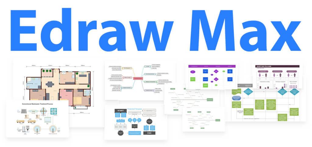 Edraw Max: Flowcharts, Diagramme, Karten & Pläne erstellen mit der Chart-App von Wondershare. Grafikprogramm für Organisation, Planung, Unterricht und vieles mehr.