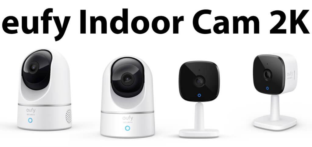 Die eufy Indoor Cam 2K gibt es als Überwachungskamera in zwei Ausführungen. Beide liefern hochauflösende Videos, lokale Speicherung, Kompatibilität mit HomeKit, Alexa und Google Assistant sowie einen kleinen Preis.