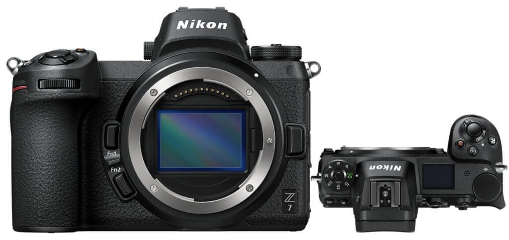 Der Nikon Z 7 Body ohne Objektiv. Nikkor Z Objektive für die Z-Serie von Nikon findet ihr weiter unten.