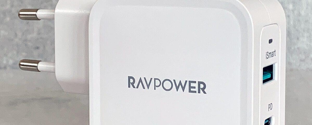 Test: RAVPower RP-PD133 Ladegerät mit USB-C und USB-A Ports