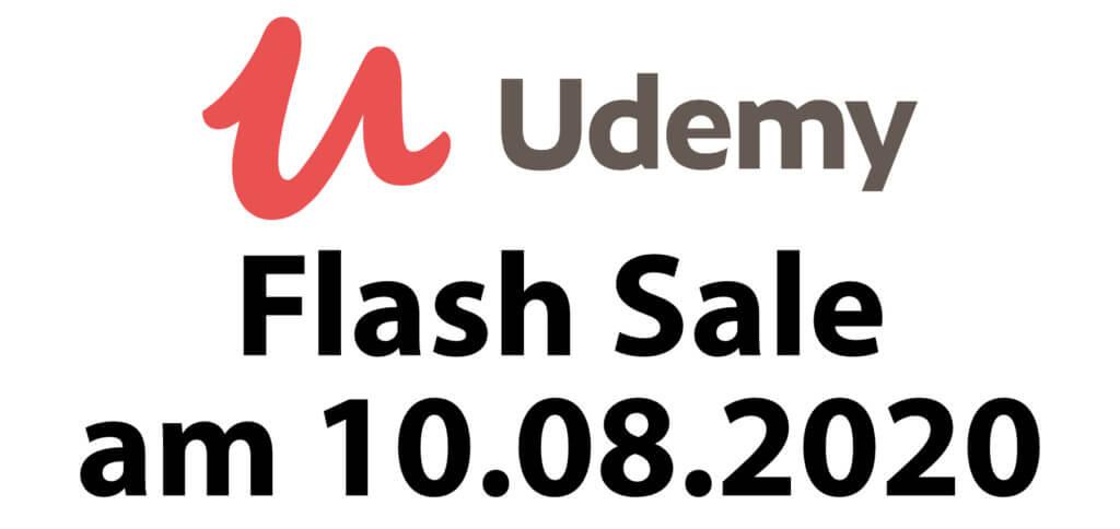 Am Montag, den 10. August 2020, solltet ihr mal bei Udemy reinschauen. Beim 24h Flash Sale gibt es Onlinekurse auch auf Deutsch günstiger.