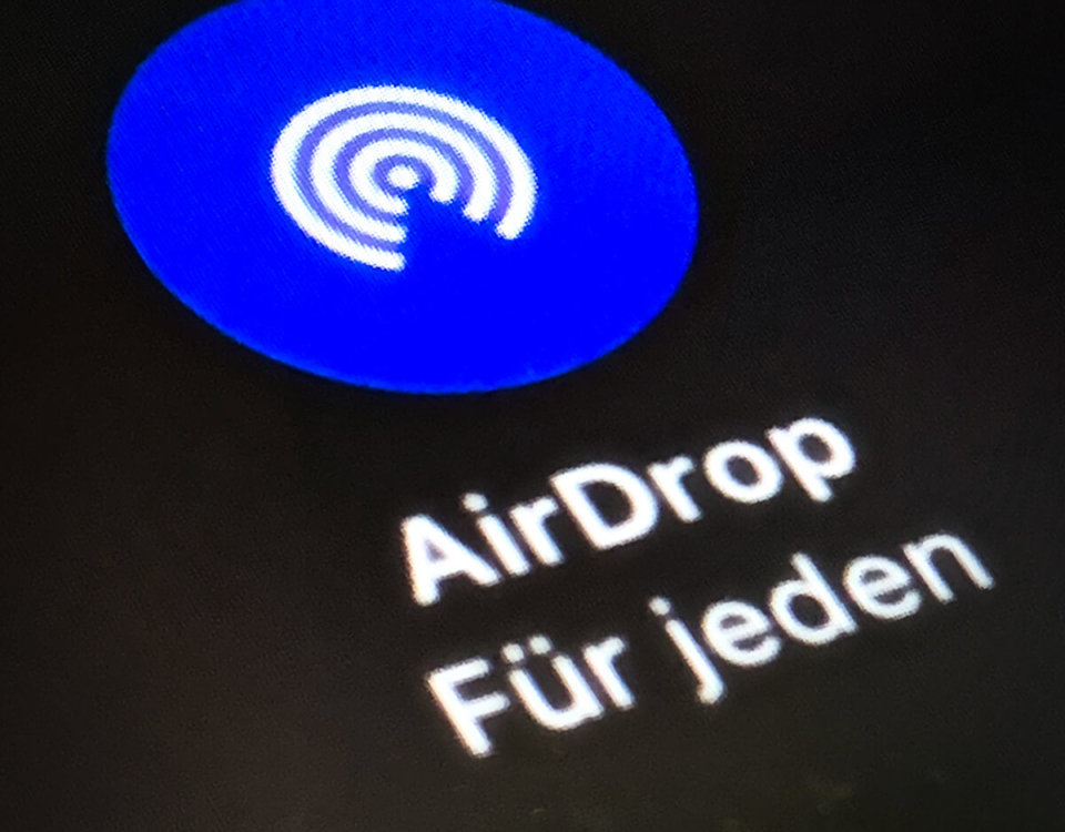 So funktioniert Apple AirDrop