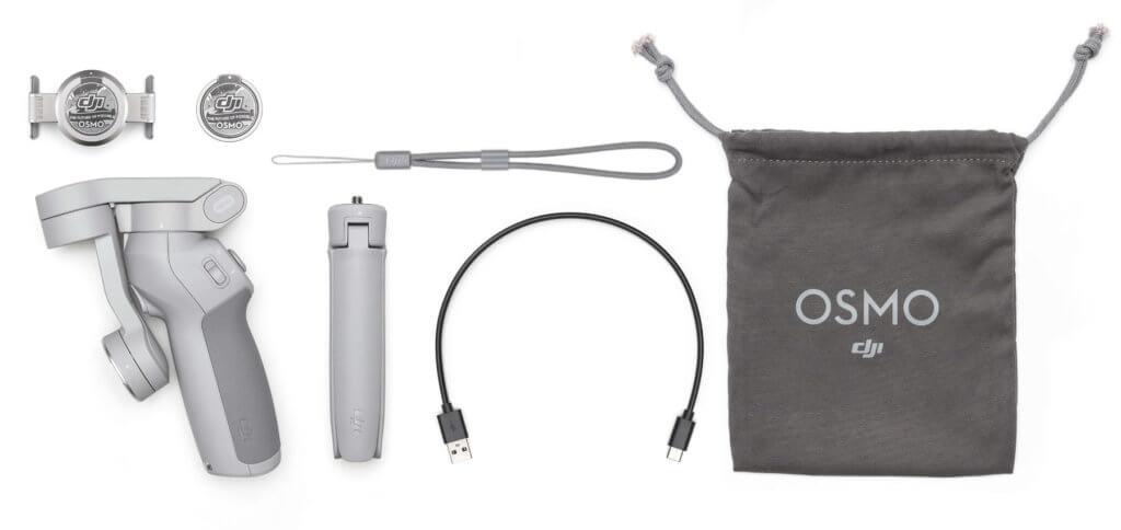 Im DJI OM 4 Lieferumfang ist alles enthalten, was ihr zur Nutzung benötigt. Ein Ladegerät muss selbst beigesteuert werden, aber sicherlich habt ihr einen USB-Lader bereits zuhause ;)