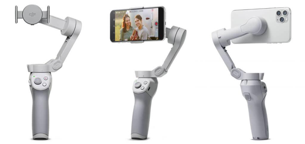 Das neue DJI OM 4 Smartphone-Gimbal punktet durch Magnet-Halterung, lange Akku-Laufzeit und zahlreiche Funktionen (teils per DJI Mimo App), mit denen cineastische Video- und Foto-Aufnahmen gelingen. Damit ist das DJI Osmo Mobile 4 mehr als nur ein Bildstabilisator.