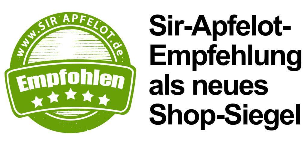 """""""Empfohlen von Sir Apfelot"""" – Das steht aktuell bei einem Produkt im Pearl Onlineshop. Eine weitere Zusammenarbeit kann ich mir gut vorstellen :)"""