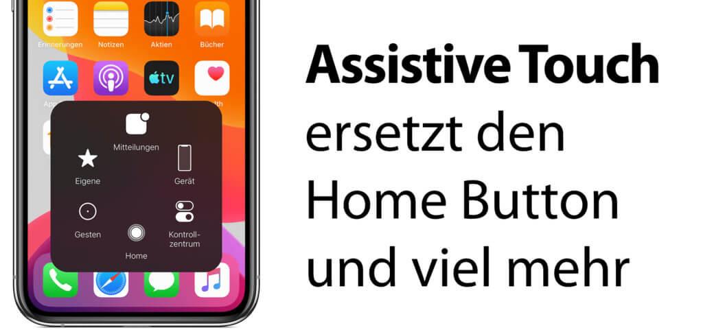 Assistive Touch ist mehr als nur ein Home-Button-Ersatz – es bringt die verschiedensten iOS-Funktionen in ein übersichtliches Menü, das sich mit nur einem Finger bedienen lässt.