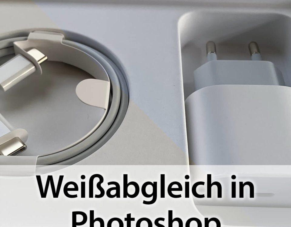 Weißabgleich in Photoshop – schnell und easy