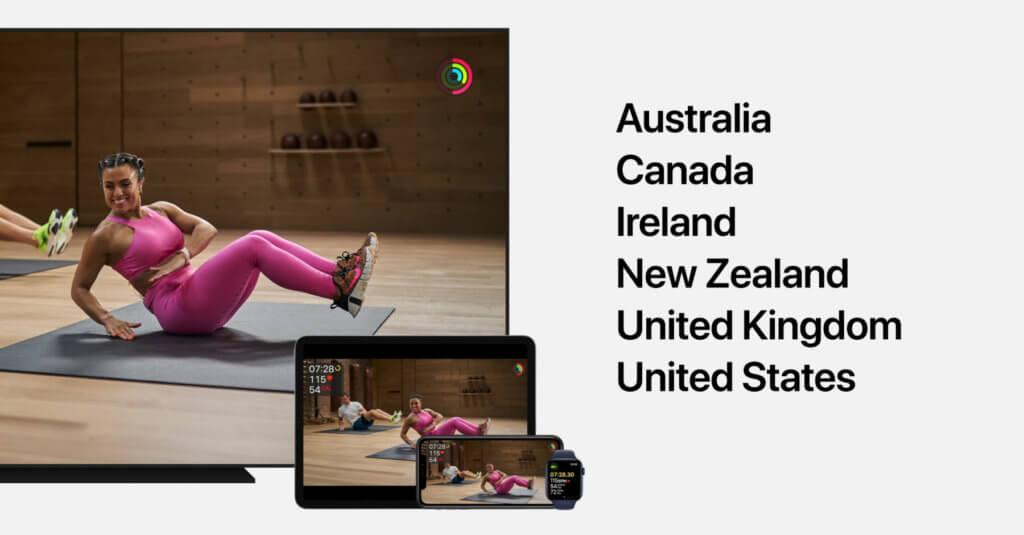 Vorerst wird Apple Fitness+ nur in der englischsprachigen Welt verfügbar werden. Das soll Ende 2020 der Fall sein. Weiter unten erfahrt ihr, wie ihr jetzt schon die Trainings der Profis nutzen könnt.