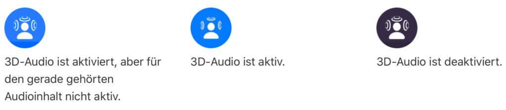 Spatial Audio bzw. 3D-Audio für die Apple AirPods Pro könnt ihr über das Kontrollzentrum von iPhone und iPad steuern.