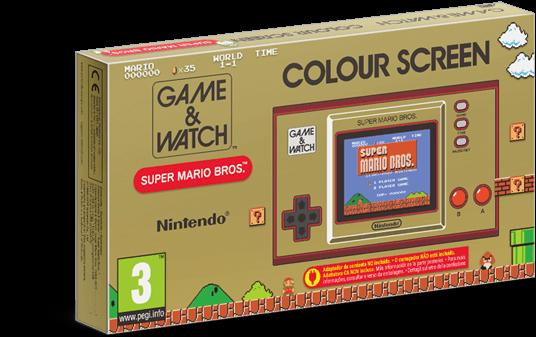 Game & Watch: Super Mario Bros. kommt als eigene Konsole auf den Markt. (Bildquelle: Nintendo.com)