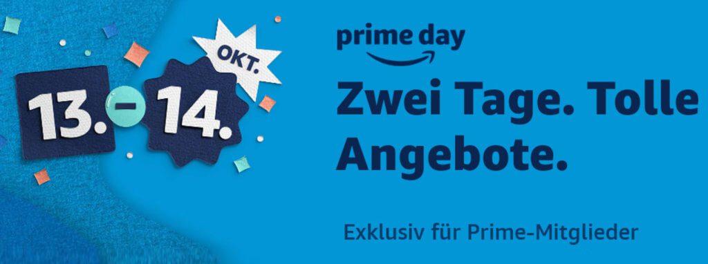 Der Amazon Prime Day 2020 findet am 13. und 14. Oktober statt. Hier findet ihr die Aktionsseite, Vorab-Angebote und Infos zu den Vorteilen einer Prime-Mitgliedschaft.
