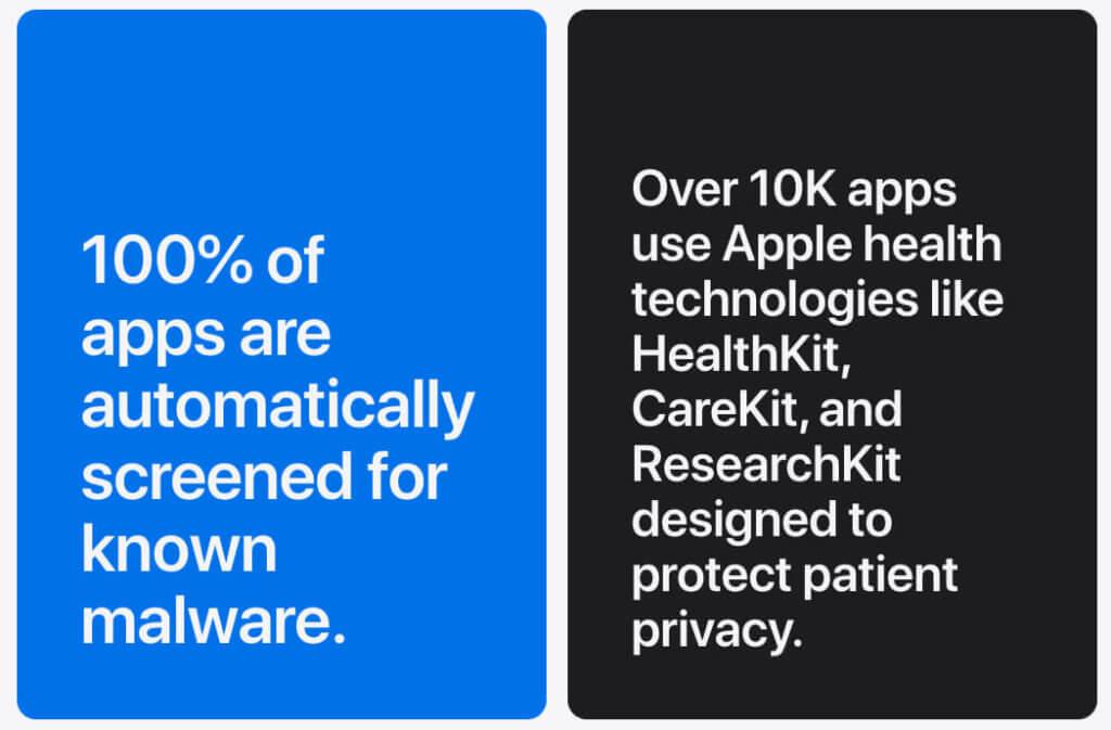 Die automatische Prüfung auf Malware ist für mich eines der Hauptargumente, die für den App Store sprechen.