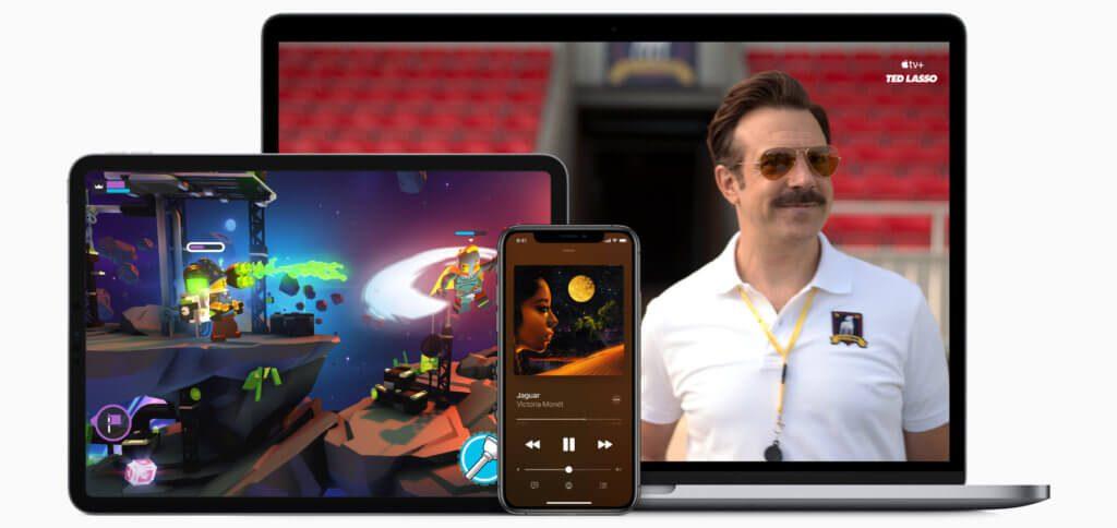 Mit Apple One bekommt ihr iCloud, Apple tv+, Apple Music und Apple Arcade zum Sparpreis. In den Ländern mit entsprechender Verfügbarkeit kommen News+ und Fitness+ hinzu.