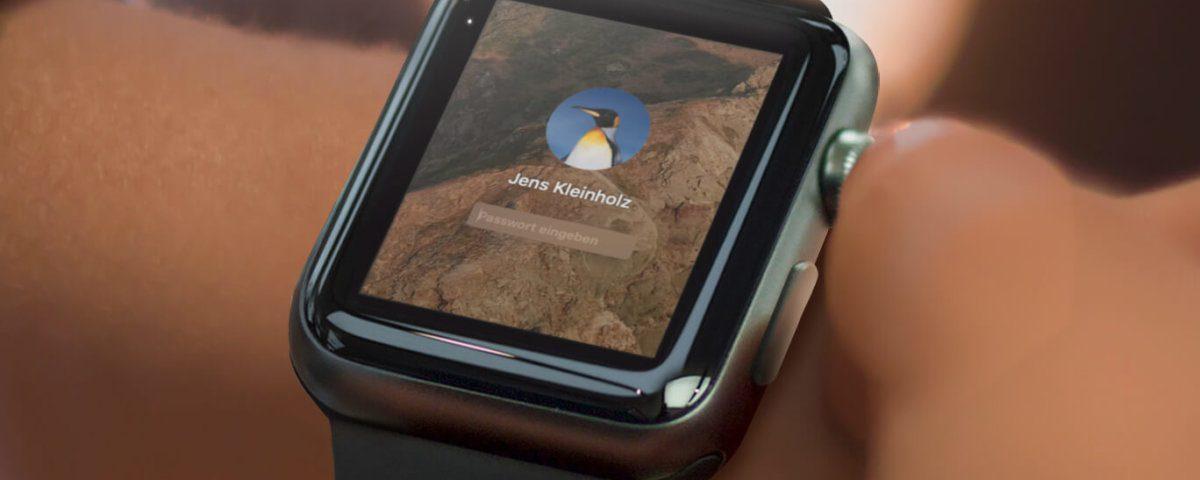 Automatisches Entsperren mit der Watch funktioniert seit watchOS 7 nicht mehr