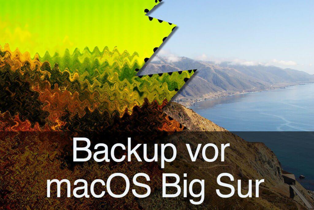 Auch wenn die Küste von macOS Big Sur noch so verlockend erscheint: Man sollte immer die Zeit haben, ein zuverlässiges Backup zu erstellen (Foto: Pixabay).