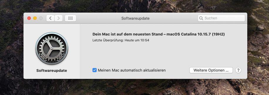 Bei mir lief mit dem macOS Update alles glatt… ich hoffe, bei euch gibt es auch keine Komplikationen.