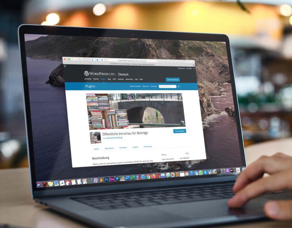 WordPress-Plugin Public Post Plugin für öffentliche Vorschau