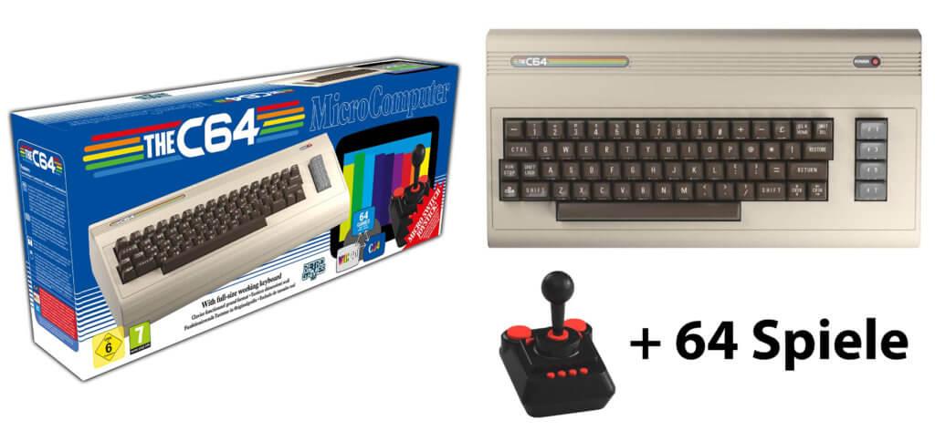 C64 Maxi und C64 Mini: die zwei Retro-Computer mit 64 vorinstallierten Spielen bieten Commodore 46 und VIC 20 Systeme sowie vieles mehr. Tipps und Tricks findet ihr im Buch von Andreas Zintzsch.