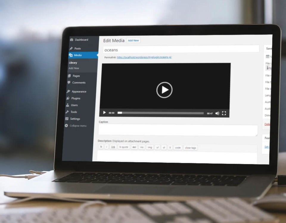 So bettet man ein Video vom eigenen Hosting in Wordpress ein