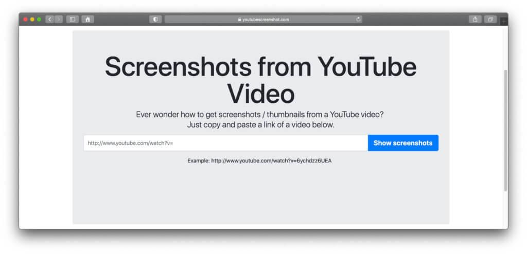 Nutzt ihr das aufgezeigte Web-Tool als YouTube Screenshot Generator, gibt es ebenfalls Vorteile und Nachteile.