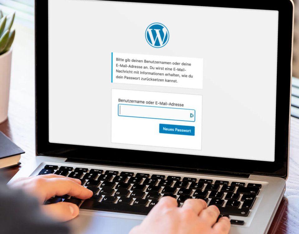 So schaltet man die Passwort-vergessen-Funktion bei WordPress ab