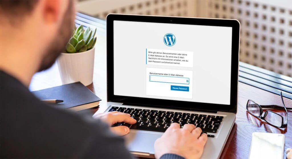 """Über die Funktion """"Pasword Reset"""" kann man zwar nichts Schlimmes anstellen, aber jedermann bzw. jedefrau kann damit den WordPress Admikn mit Mails bombardieren."""