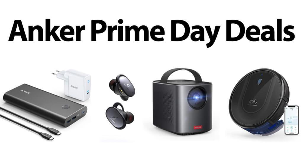 Anker-Geräte zum Prime Day 2020 mit bis zu 41% Rabatt kaufen. Powerbank, Maus, Beamer, Kopfhörer, Lautsprecher, Smart Home Geräte, Staubsauger und Saugroboter – hier findet ihr alle Deals.