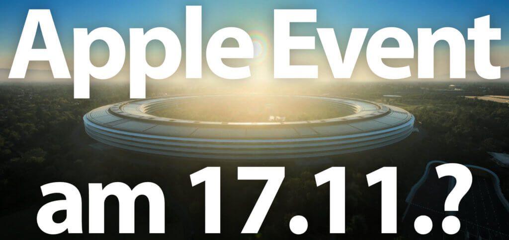 Ist der Termin für das Apple November Event der 17.11.2020? Wahrscheinlich. Doch welche Geräte werden präsentiert? Apple Mac-Modelle mit Apple Silicon SoC, die AirTags, die AirPods Studio und / oder neue Apple TV Modelle? Hier findet ihr die aktuellen Gerüchte und Leaks.