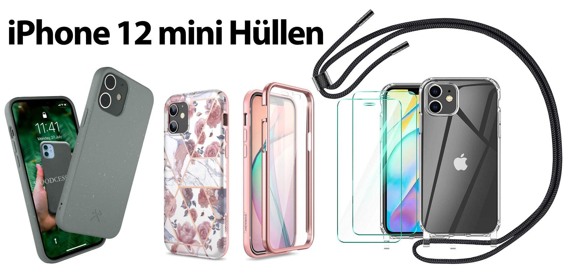 Hier die richtige iPhone 12 mini Hülle oder ein Case mit Displayschutz finden. Verschiedene Handyhüllen mit und ohne Trageband für das neue 5,4-Zoll-Smartphone von Apple. 2020