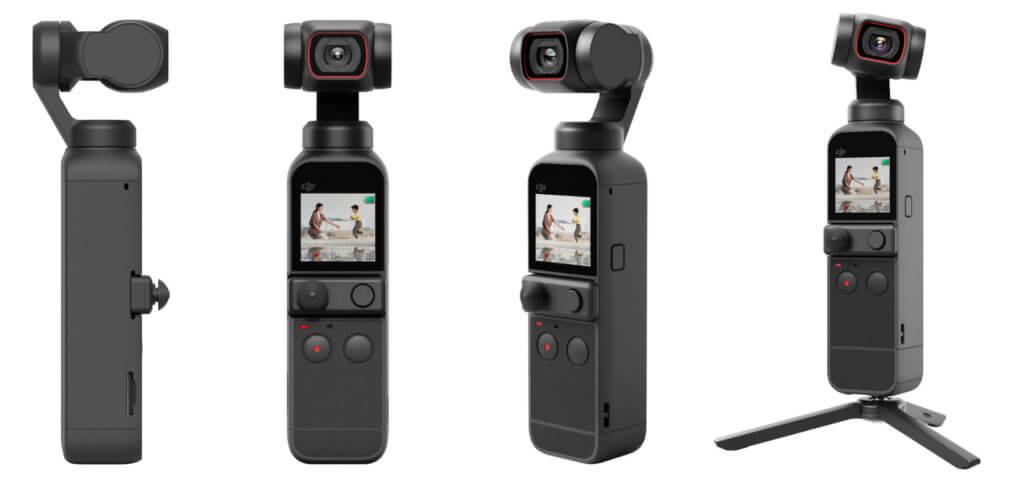 Die DJI Pocket 2 Kamera mit 4K-Video, hochauflösenden Fotos und 3-Achsen-Stabilisation durch das integrierte Gimbal. Hier findet ihr die technischen Daten und den Vergleich von DJI Pocket 2 (2020) und DJI Osmo Pocket (2018).