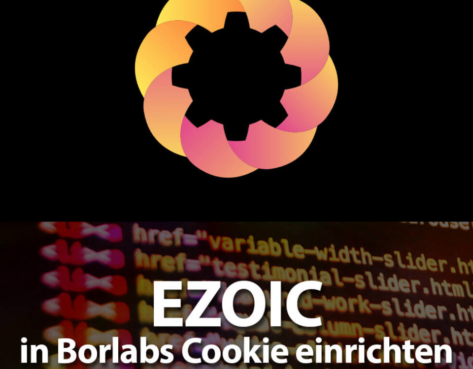 EZOIC in Borlabs Cookie einrichten