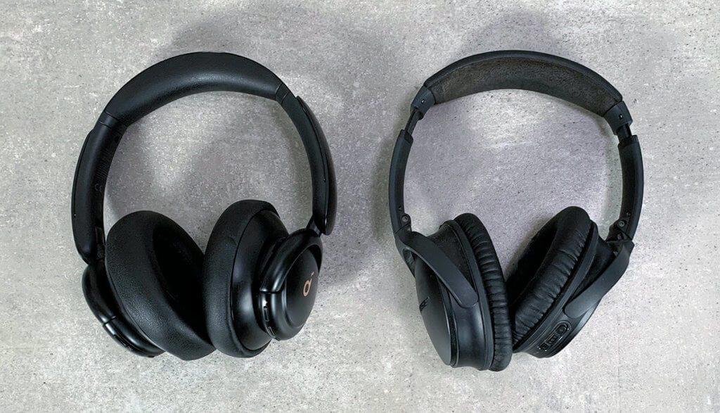 Ich habe für euch einen direkten Vergleich zwischen dem Soundcore Life Q30 und dem Bose QC35 gemacht – das Ergebnis lest ihr weiter unten (Fotos: Sir Apfelot).