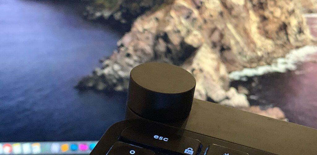 Das Drehrad der Logitech Craft Tastatur hat bei mir unter Photoshop (Mac) seine app-spezifischen Funktionen eingestellt und ändert nur noch die Lautstärke (Fotos: Sir Apfelot).