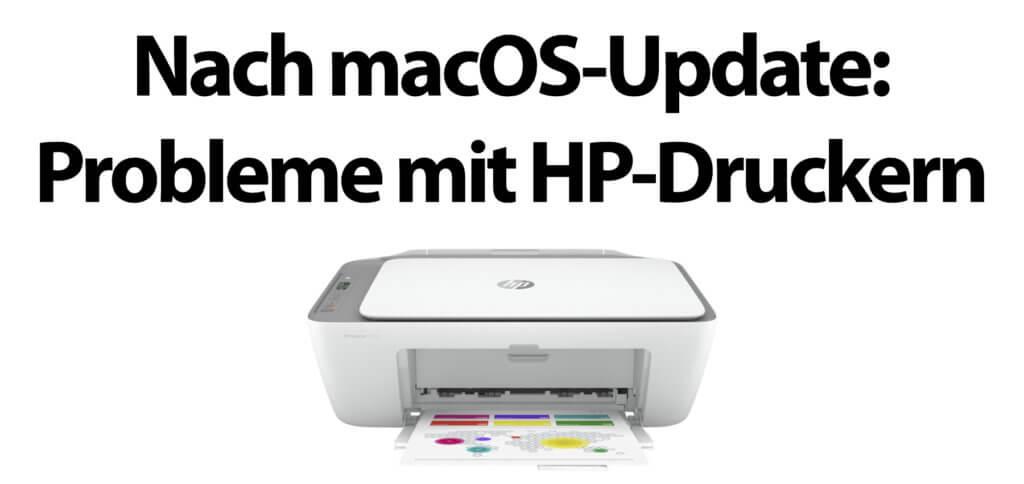 Nach dem Update auf macOS 10.15.7: Der Mac erkennt HP-Druckertreiber als Malware. Hilfe liefert hier der Download und eine Neuinstallation des Drucker-Treibers von HP auf dem Apple Mac.
